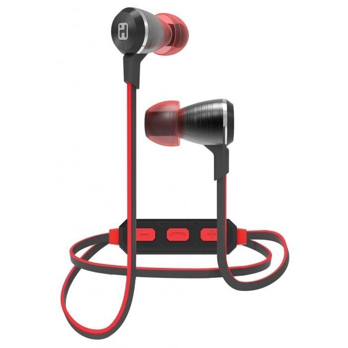Écouteurs sans fil B29 Bluetooth® métal rouge de iHome