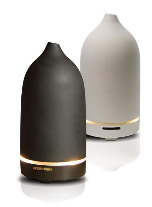 Diffuseur d'arômes et d'huiles essentielles CASA noir