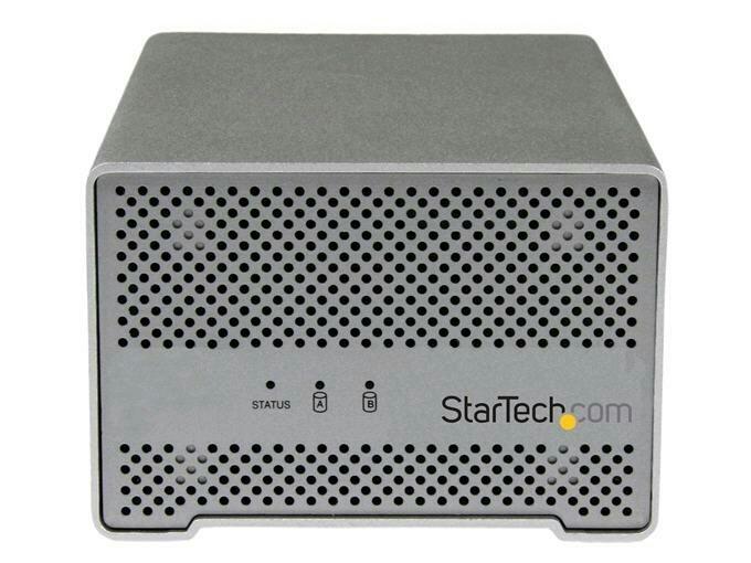 Boîtier disque dur (2X2.5) thunderbolt S252SMTB3 de Startech