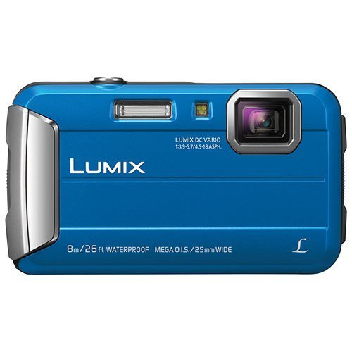 Appareil photo Lumix BLEU DMCTS30A hydrofuge de Panasonic