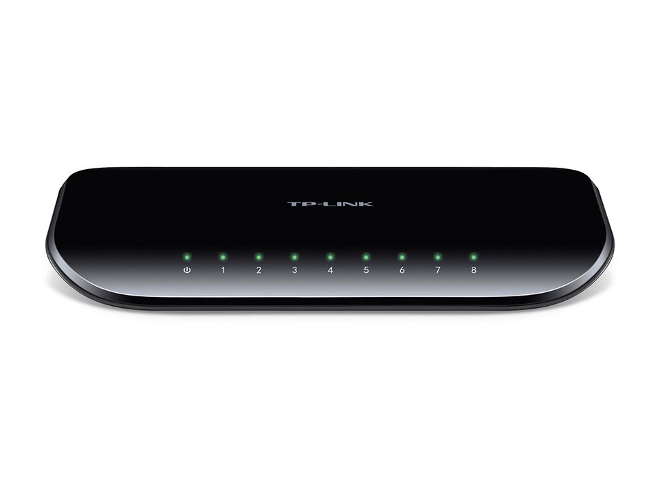 Switch de bureau 8 ports Gigabit TL-SG1008D de TP-Link