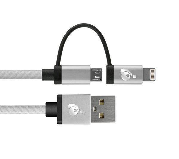 Cäble DuoLinq™ micro USB et lightning™ de Iogear