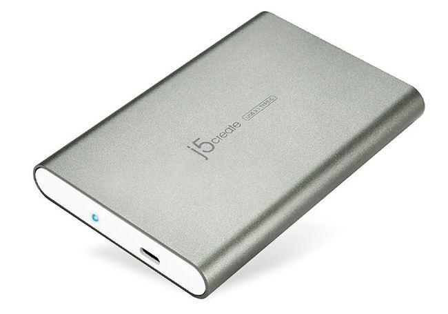 Boîtier de disque dur 2,5 po USB 3.01 (USB-C) JEE253 de J5CREAT