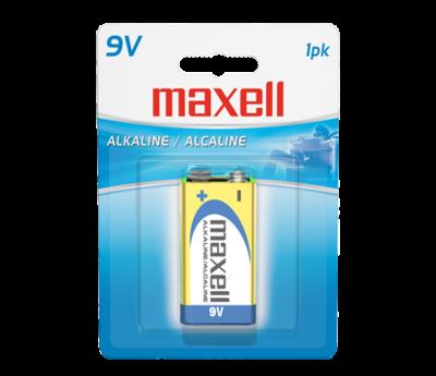 Batterie alcaline format 9V de Maxell
