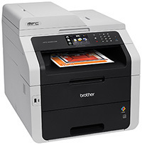 Imprimante laser tout-en-un MFC-9340cdw de brother