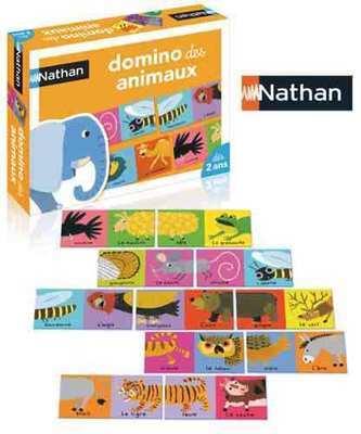 Jeu de dominos des animaux de Nathan
