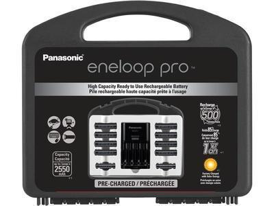 Chargeur de pile Eneloop Pro de Panasonic