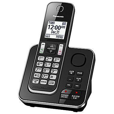 Système téléphonique sans fil numérique 1 combinés avec répondeur de Panasonic