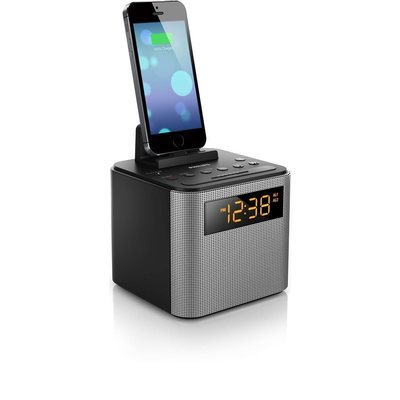 Radio-réveil et chargeur universel de téléphone intelligent de Philips