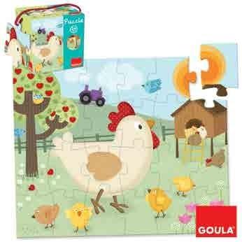 Puzzle Poule de Goula