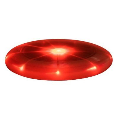Disque volant Flashflight® JUNIOR à D.E.L. FFJ-08-10 rouge de Nite Ize