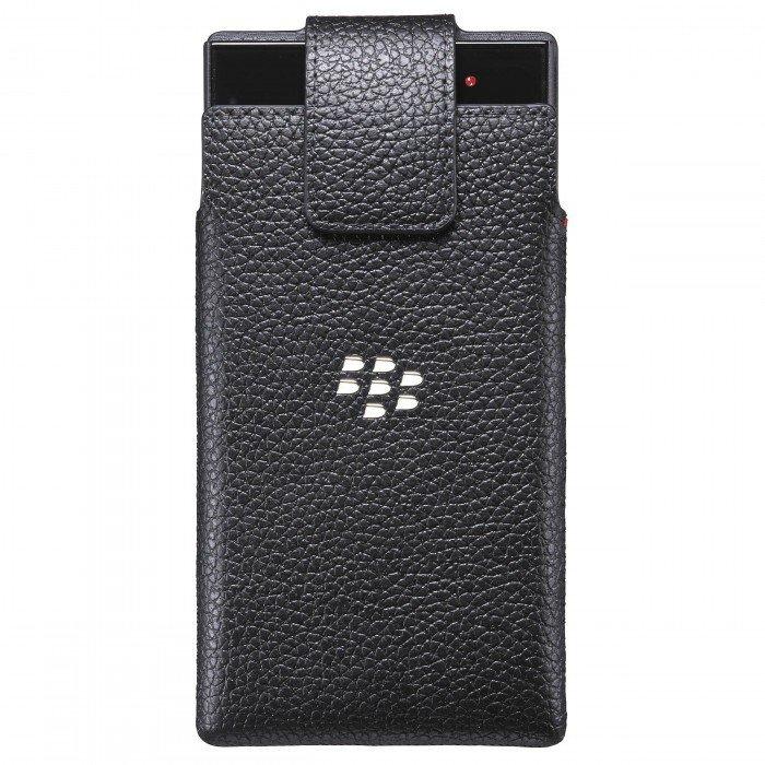 Étui pivotant en Cuir Leap Noir ACC60113001 de BlackBerry®