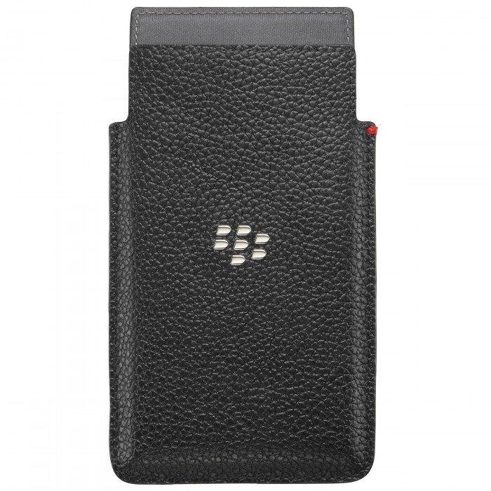 Pochette en Cuir Leap Noir ACC60115001 de BlackBerry®