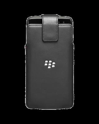 Étui Pivotant en Cuir Noir POUR DTEK60 ACC63066001de BlackBerry®
