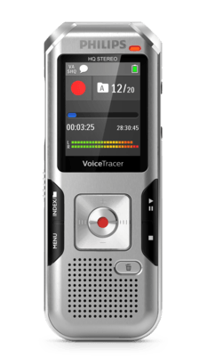 VoiceTracer Enregistreur audio DVT4010 DE Philips