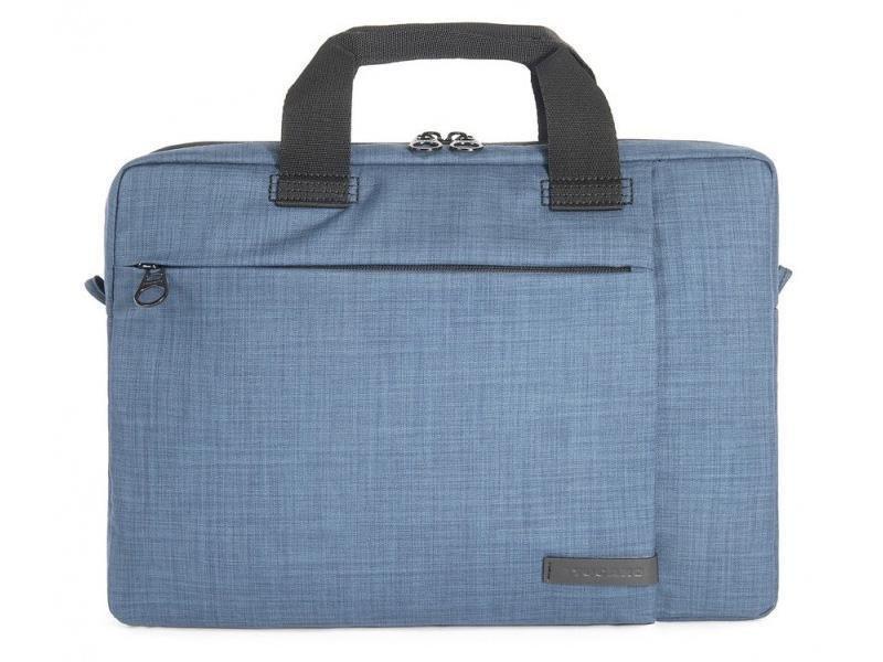 Sac pour portable 13.3/14po SVOLTA SLIM bleu de Tucano