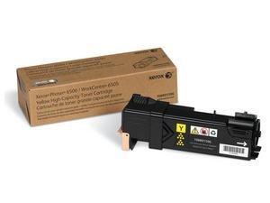 Cartouche d'encre pour imprimante laser 6505 Jaune 2500 pages de XEROX