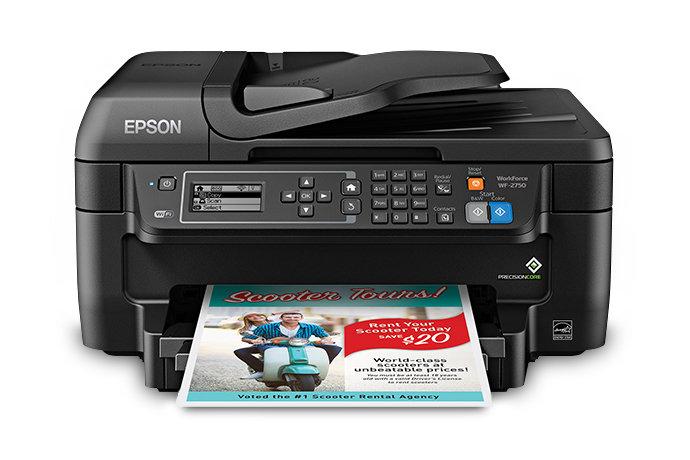 Imprimante tout-en-un WORKFORCE WF-2750 de Epson