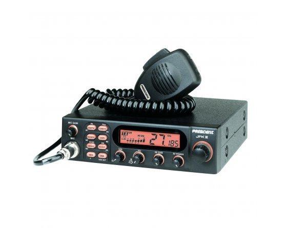 Poste de radio-CB JFK II A+ TXUS608 de PRESIDENT ELECTRONICS