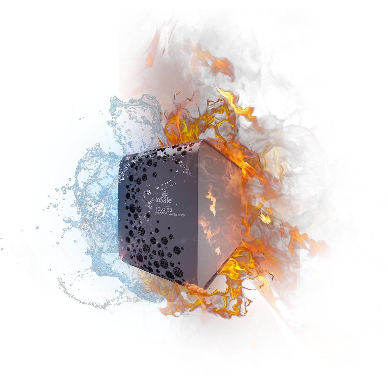 "Disque dur externe 3T SOLO G3 hydrofuge/ignIfuge 3.5"" SK3TB de Iosafe"