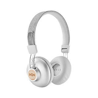 Casque d'écoute Bluetooth Positive Vibration, argent de The House of Marley