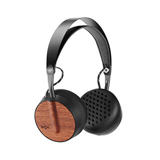 Casque d'écoute Bluetooth Buffalo Soldier, noir de The House of Marley