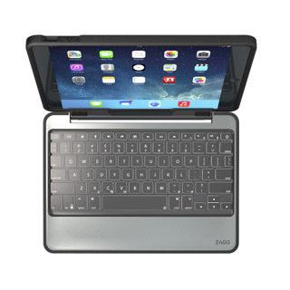 Étui-clavier et à rabat ''Rugged'' pour iPad Air (5th Gen) noir de ZAGG