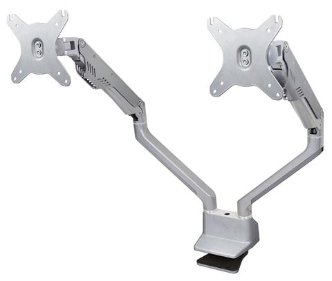 Bras de montage double pour moniteurs DS-225XE de Doublesight Displays