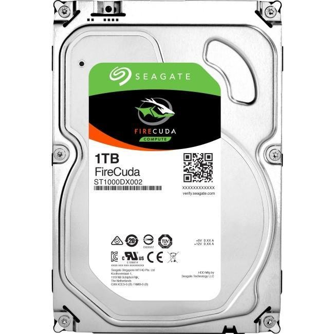 Disque dur 1T firecuda 3.5 SATA HDD 7200 64MB de Seagate