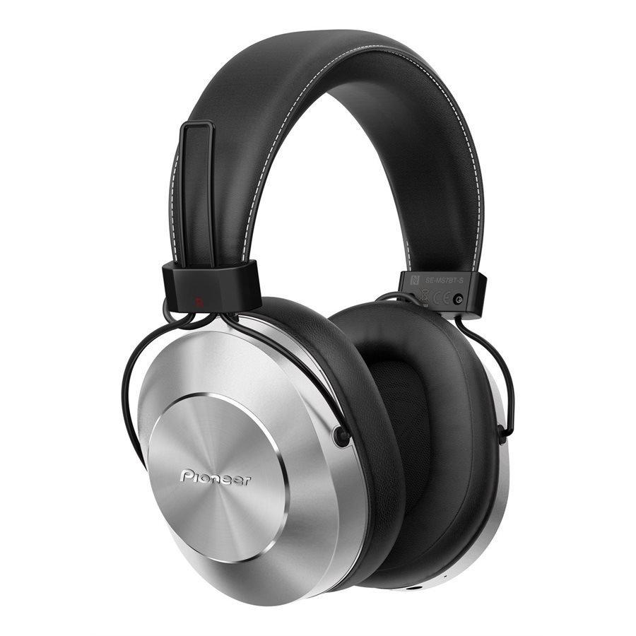 Casque Over-Ear haute résolution Bluetooth et microphone gris de Pioneer