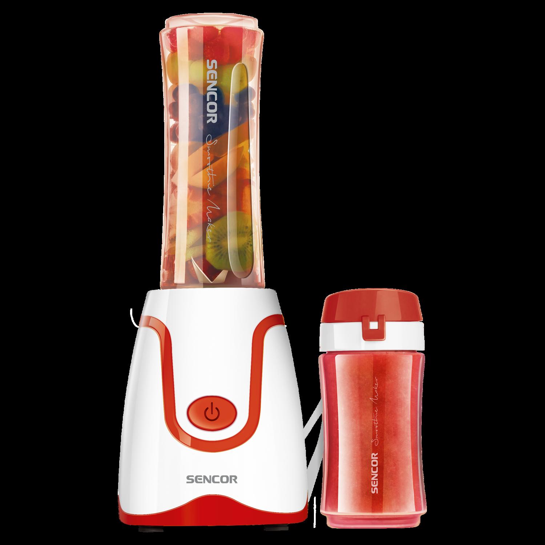 Mixeur à smoothie rouge de Sencor