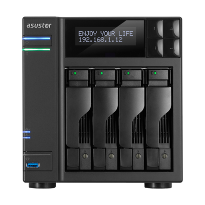NAS 4 baies i3 3.5 GHz Dual-Core/2G AS7004T de Asustor
