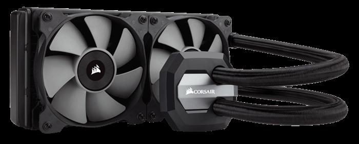 Refroidisseur liquide pour processeur hautes performances H100i v2 Hydro Series™ de Corsair