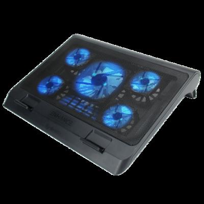 Support de refroidissement pour ordinateur portable GX-C1  D.E.L. Bleu de Enhance