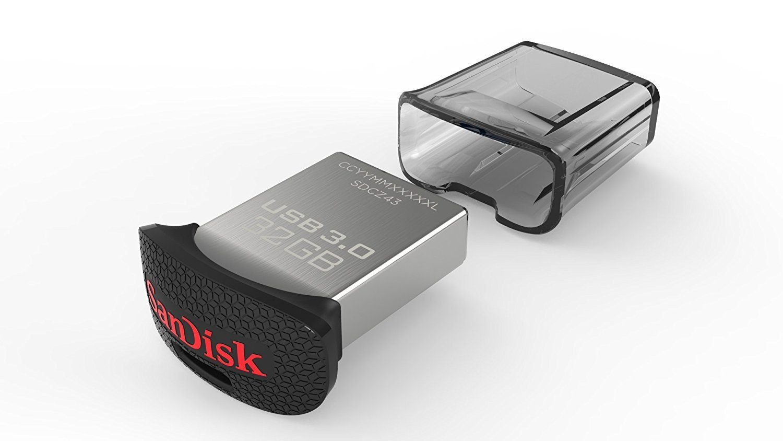 Clé USB 3.0 Ultra Fit™ 32G de SanDisk lecture 150mo/s -écriture  jusqu'à 60mo/s