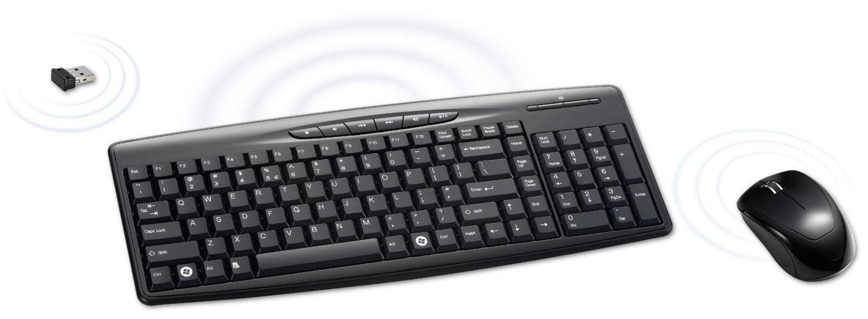 Combo clavier et souris sans fil 2,4 GHz de ALDEN DESIGN