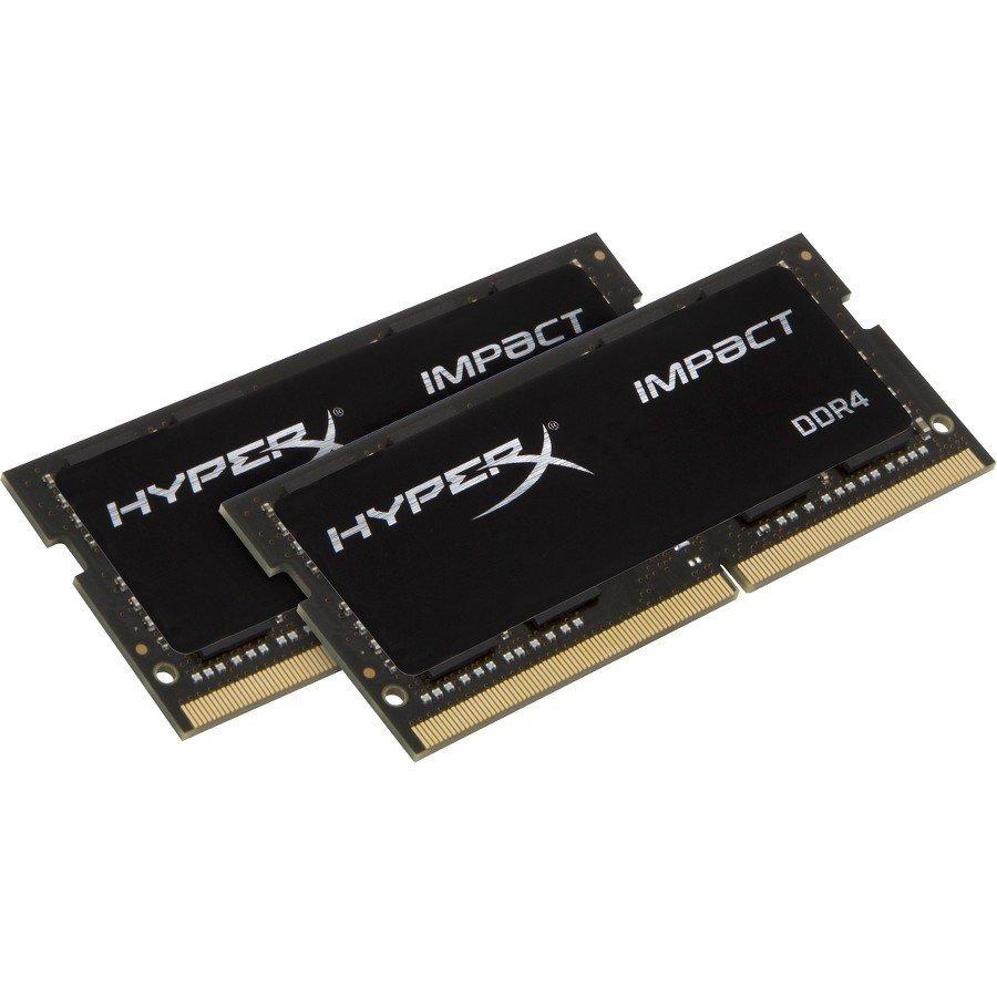 Barrette de mémoire vive  HYPERX IMPACT 32GB 2400MHZ DDR4 NON-ECC CL14 SODIMM (ens. de 2) de KINGSTON