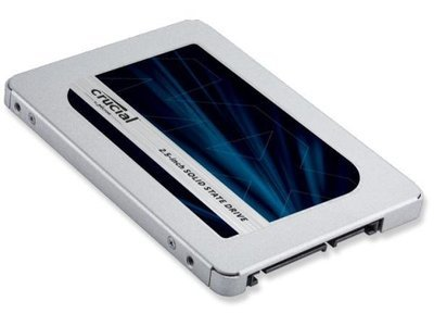 Disque solide 2,5po  500G SSD 7mm de Crucial