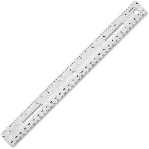 Règle métrique et impérial  30cm/12po de Business Source
