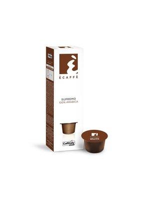 Capsules pq10 Ècaffè Supremo 100% Arabica de Caffitaly