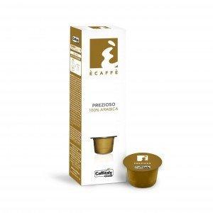 Capsules pq10 Ècaffè Prezioso 100% Arabica de Caffitaly