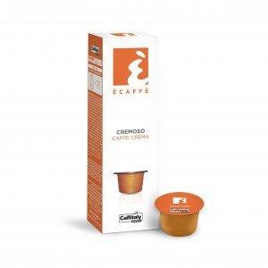 Capsules pq10 Ècaffè Cremoso Caffe' Crema de Caffitaly