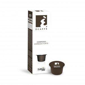 Capsules pq10 Ècaffè Corposo Espresso Forte de Caffitaly