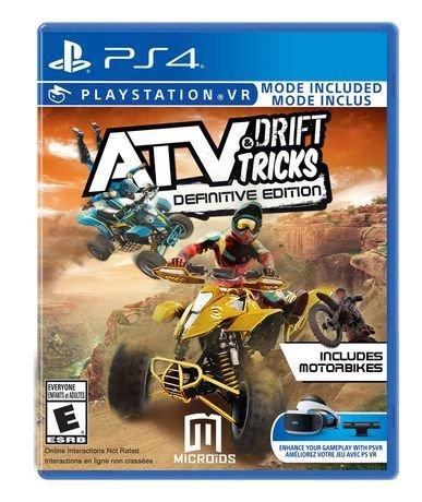 Jeux PS4 ATV Drift & Tricks Definitive de MAXIMUM GAMES
