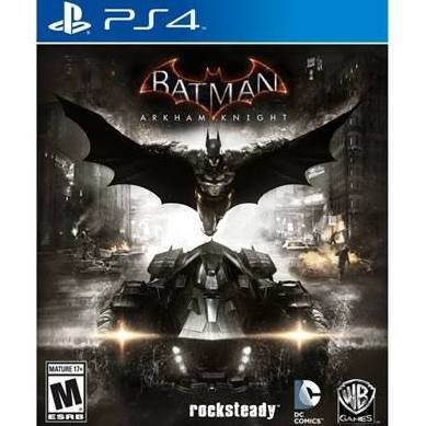Jeux PS4 Batman Arkham Knight de WARNER
