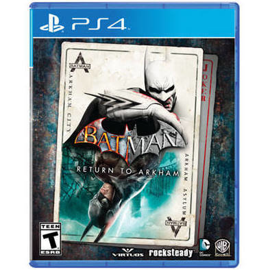 Jeux PS4 Batman: Return to Arkham de WARNER