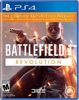 Jeux PS4 Battlefield 1: Revolution Edition de ELECTRONIC ARTS