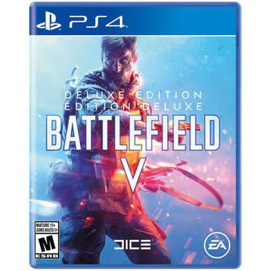Jeux PS4 Battlefield V édition de luxe de ELECTRONIC ARTS