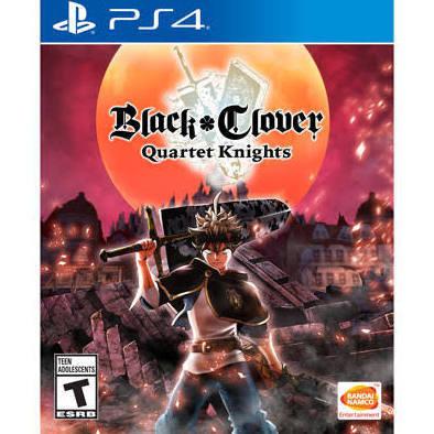 Jeux PS4 Black Clover: Quartet Knights de NAMCO BANDAI