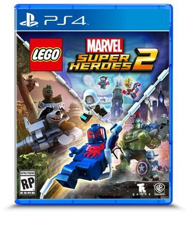 Jeux PS4 LEGO MARVEL: SUPER HEROES 2